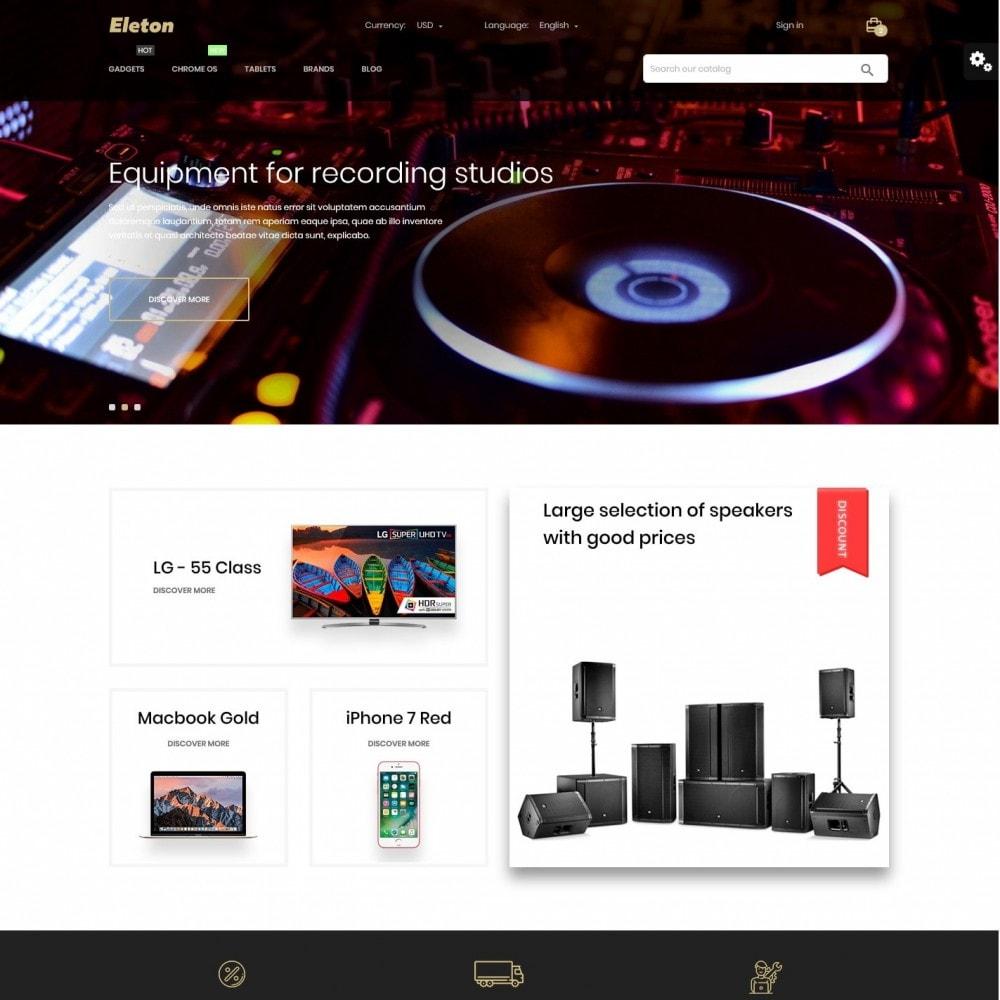 theme - Electronics & Computers - Eleton - High-tech Shop - 2
