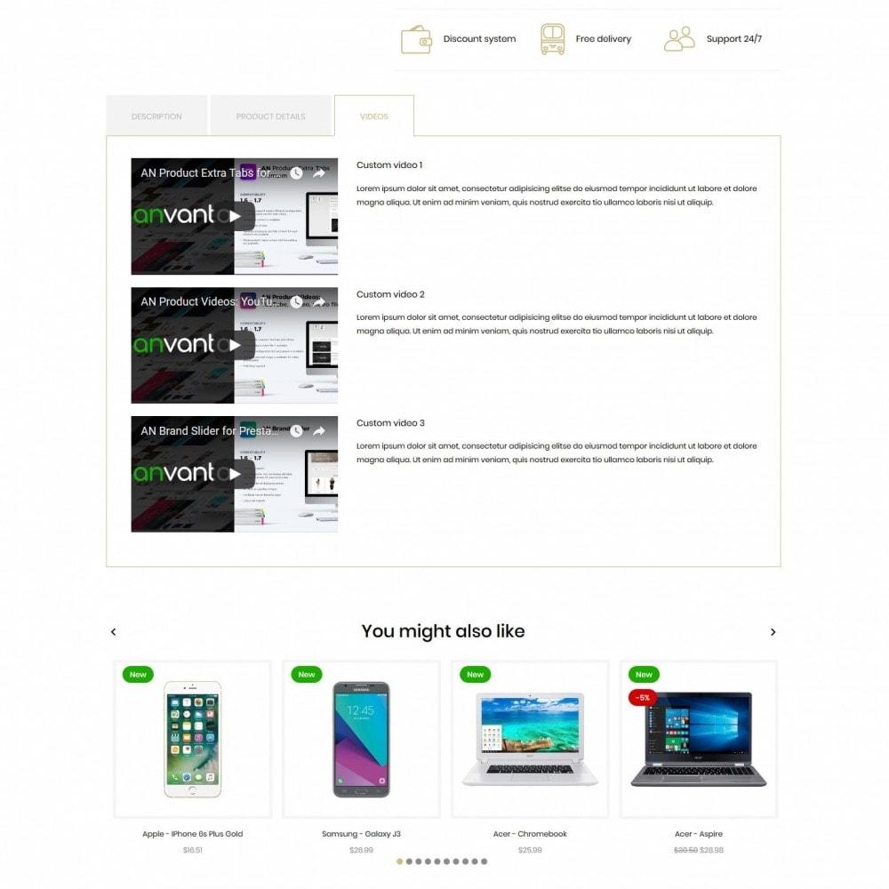 theme - Electronics & Computers - Eleton - High-tech Shop - 9