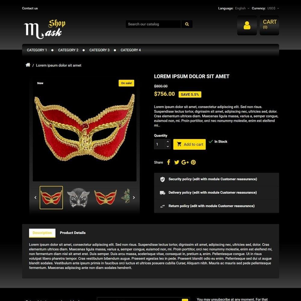 theme - Presentes, Flores & Comemorações - MaskShop - 3