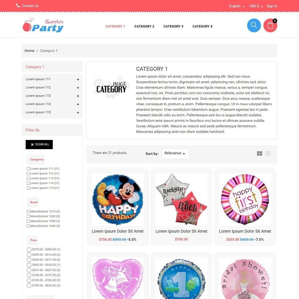 theme - Kinder & Spielzeug - PartySupplies - 2