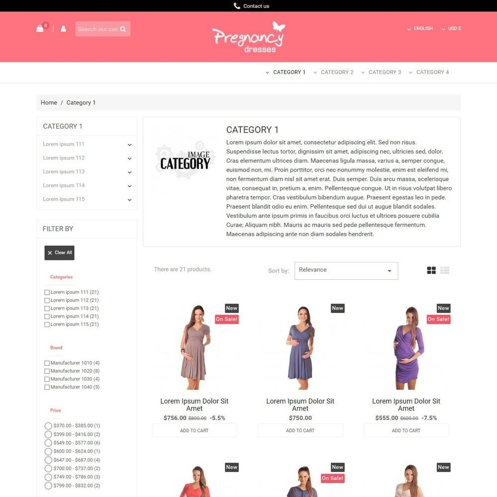theme - Mode & Chaussures - PregnancyDresses - 2