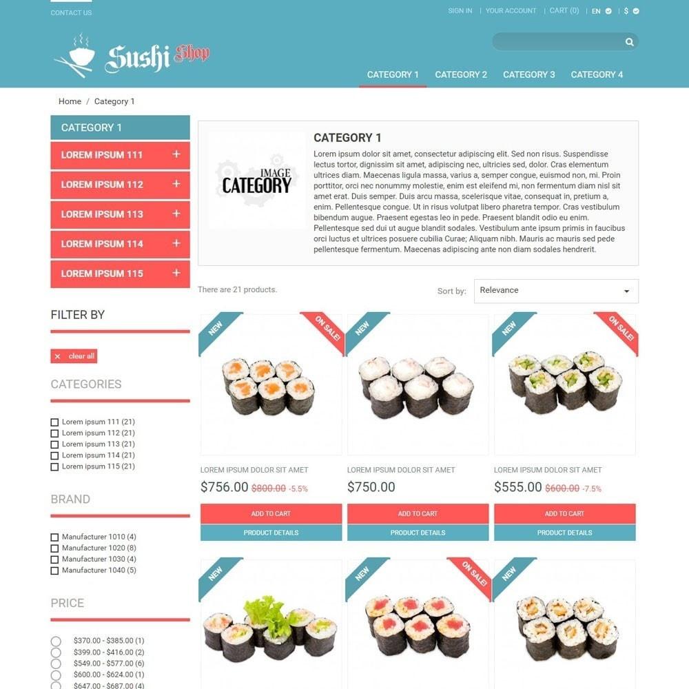 theme - Alimentos & Restaurantes - SushiShop - 2
