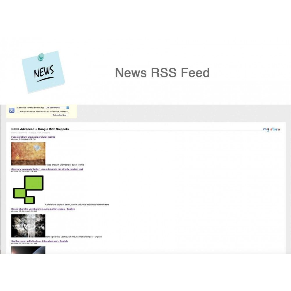 module - Blog, Forum & News - News Advanced + Google Rich Snippets - 16