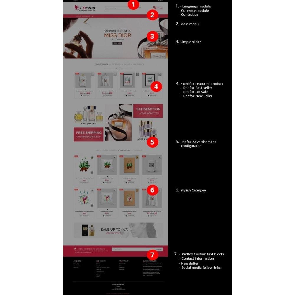 theme - Zdrowie & Uroda - Lorena Cosmetic Shop HTML5 - 3