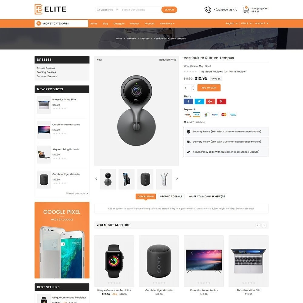 theme - Electronics & Computers - Elite Electronics Store - 3