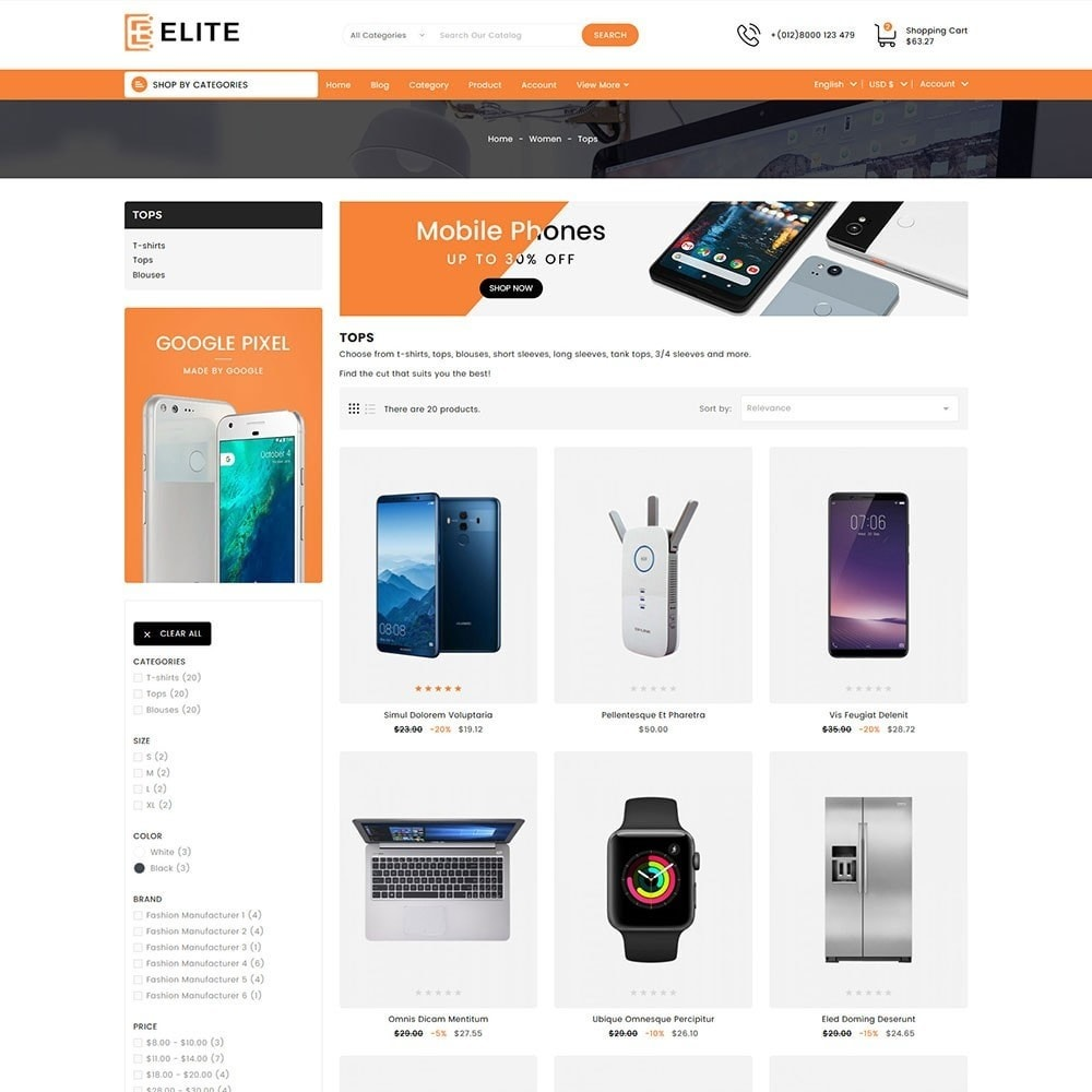 theme - Electronics & Computers - Elite Electronics Store - 4