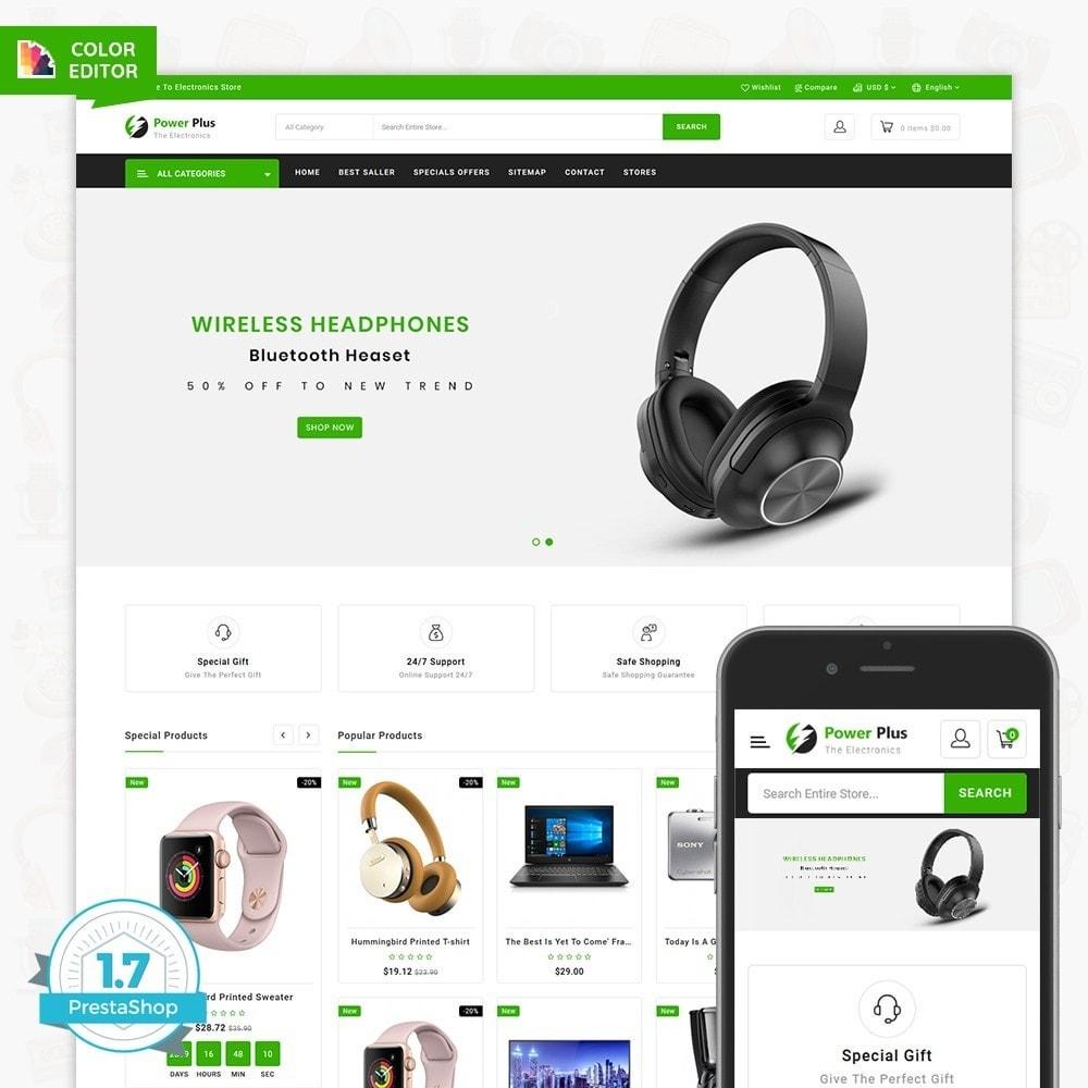 theme - Electronics & Computers - Powerplus - The Best Electronics Store - 1