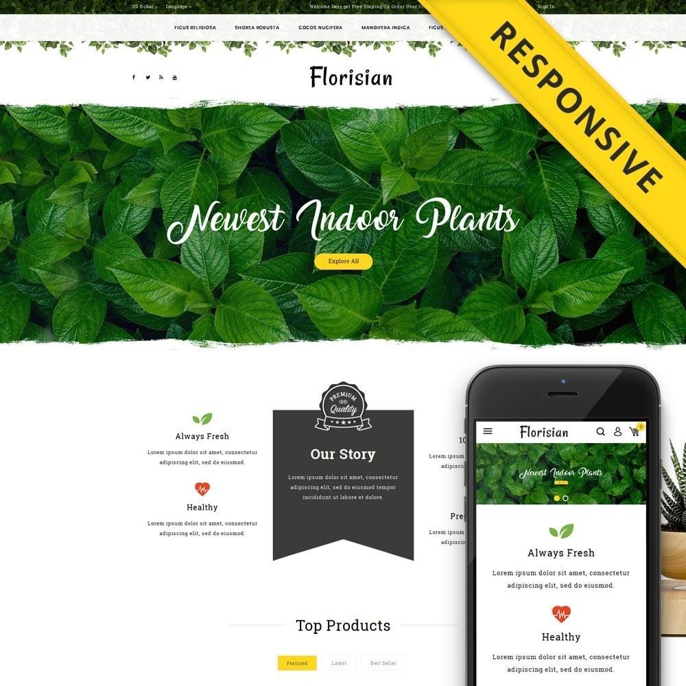 theme - Presentes, Flores & Comemorações - Florisian - Plant Shop - 1