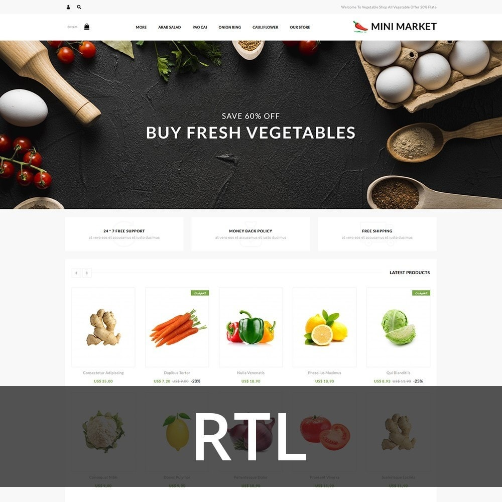theme - Food & Restaurant - Minimarket - The Grocery Store - 3