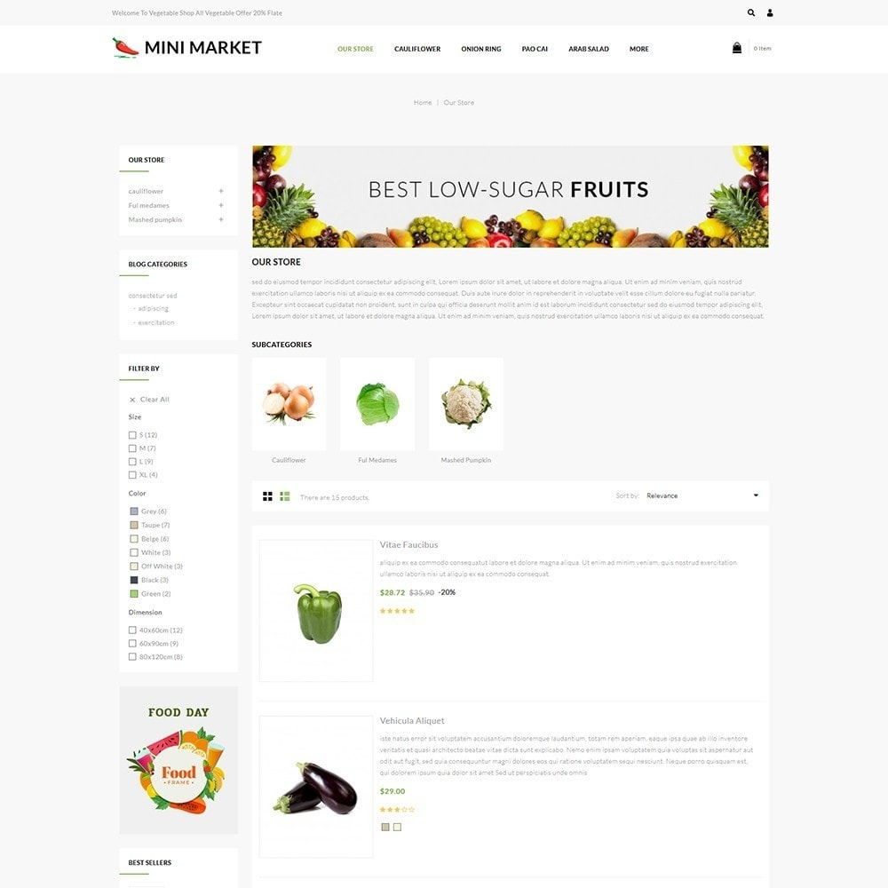 theme - Food & Restaurant - Minimarket - The Grocery Store - 5