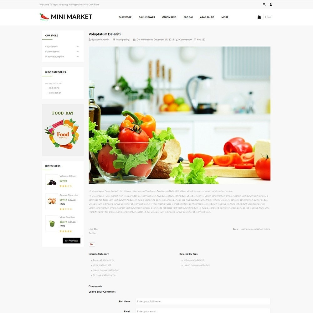 theme - Food & Restaurant - Minimarket - The Grocery Store - 7