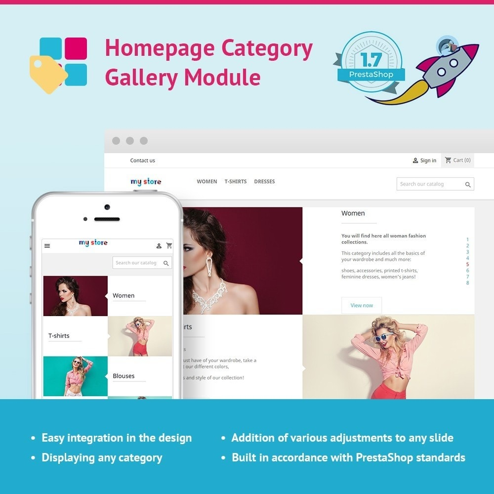 module - Sliders & Galerias - JX Homepage Category Gallery - 1