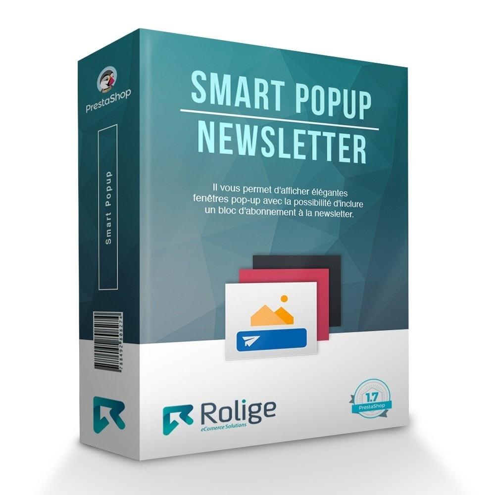 module - Promotions & Cadeaux - Popup Intelligent (Bulletin Popup) - 1
