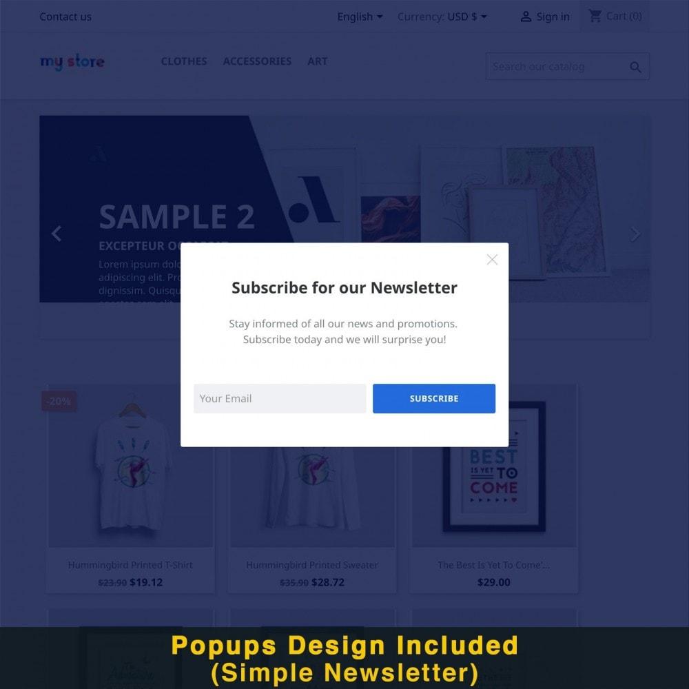 module - Promociones y Regalos - Popup Inteligente (Popup Newsletter) - 16