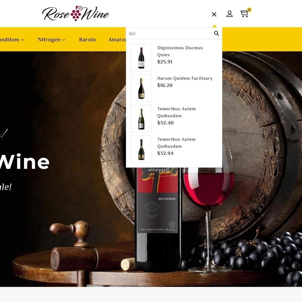 theme - Drink & Wine - Rose Wine Store - 9