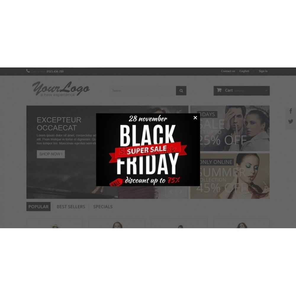 module - Promoções & Brindes - Promotion Popup  - Black Friday - 3