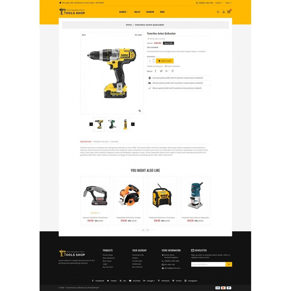 theme - Home & Garden - Tools Equipment Shop - 5