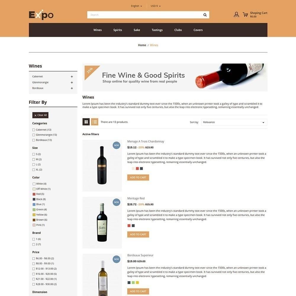 theme - Bebidas y Tabaco - Expo - Tienda de vinos - 5