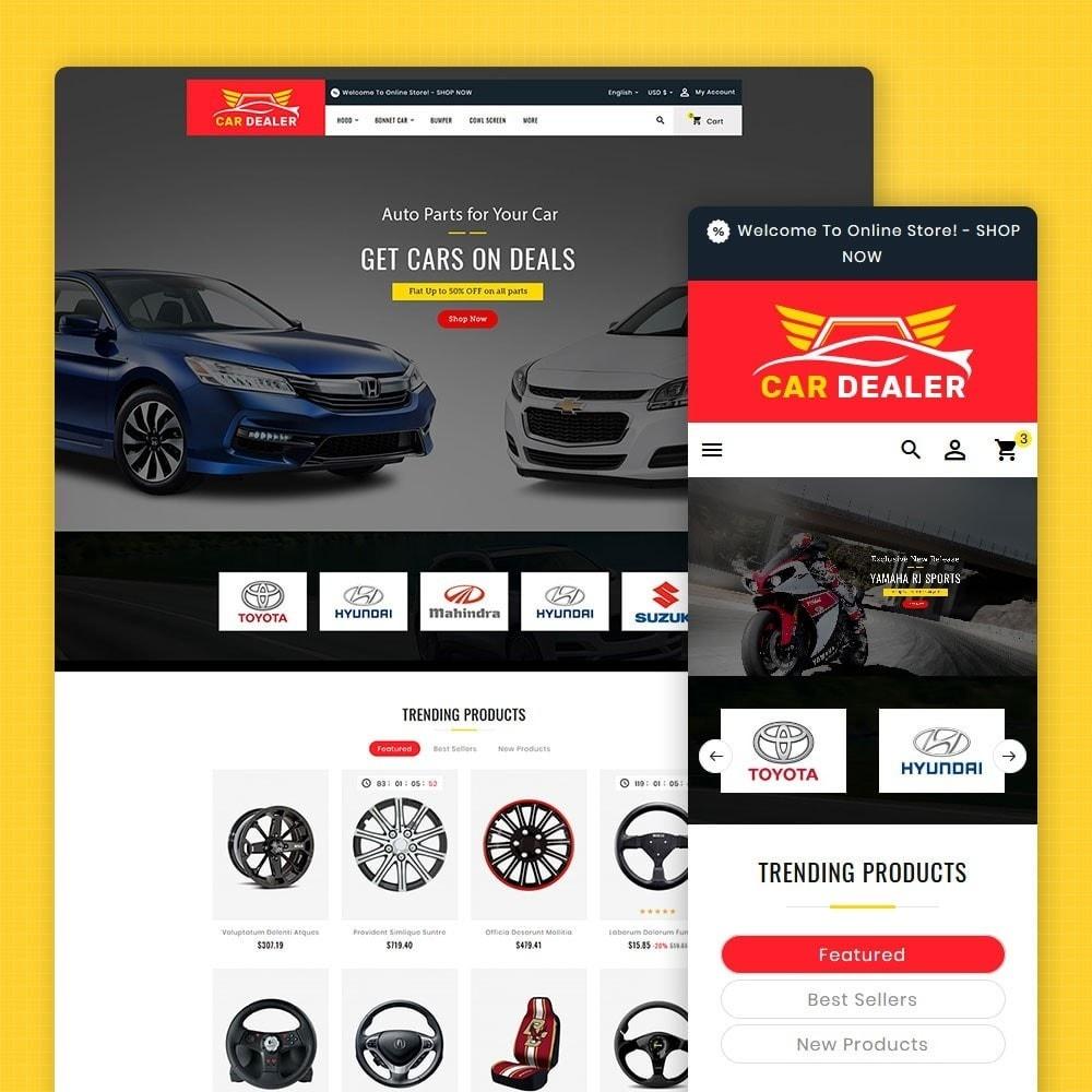 theme - Automotive & Cars - Auto Parts & Dealer - 1