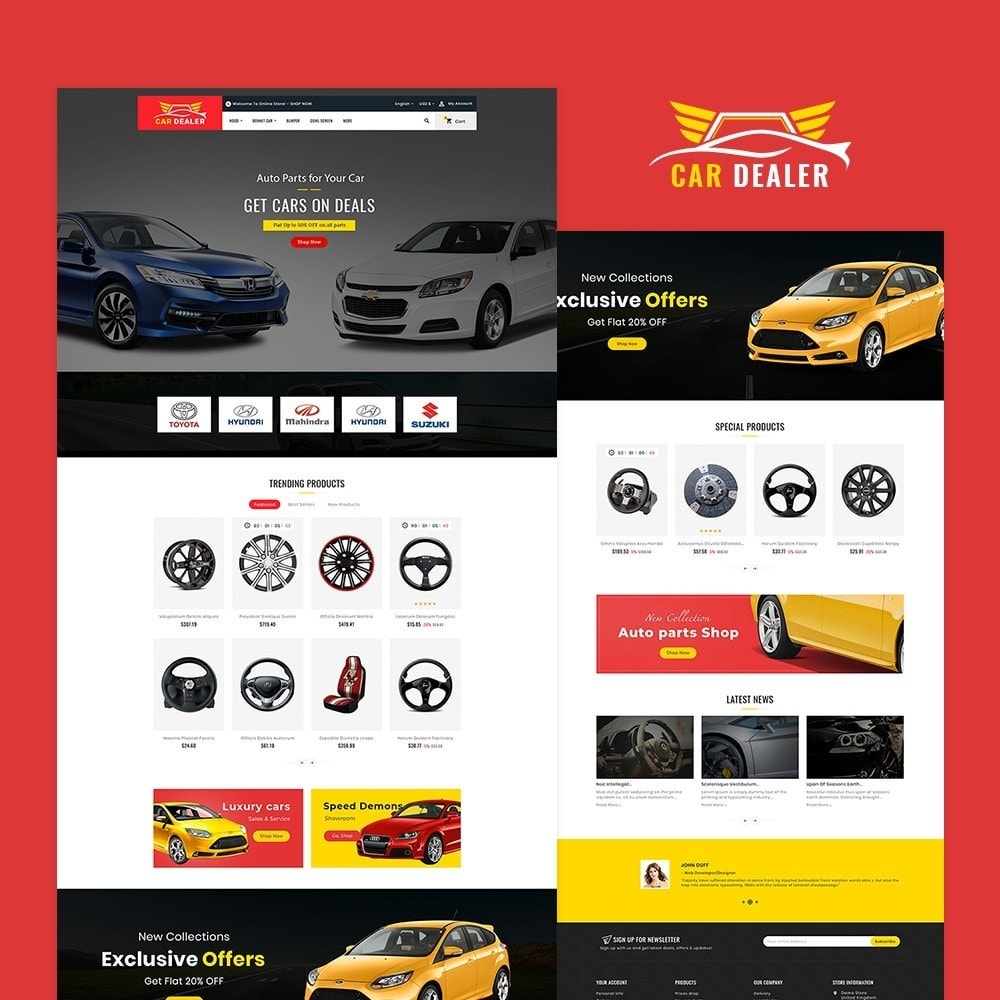 theme - Carros & Motos - Auto Parts & Dealer - 2