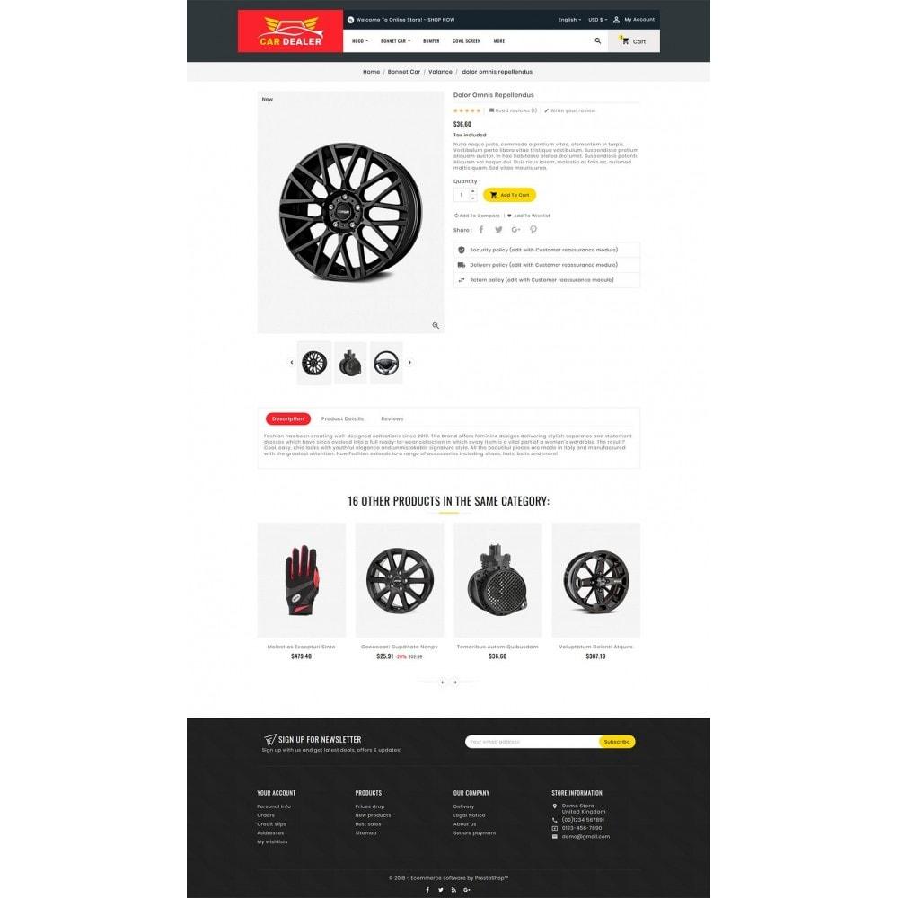 theme - Automotive & Cars - Auto Parts & Dealer - 5