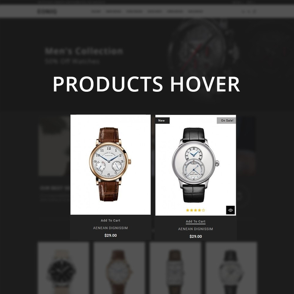 theme - Electronics & Computers - Eoniq - The Watch Store - 12