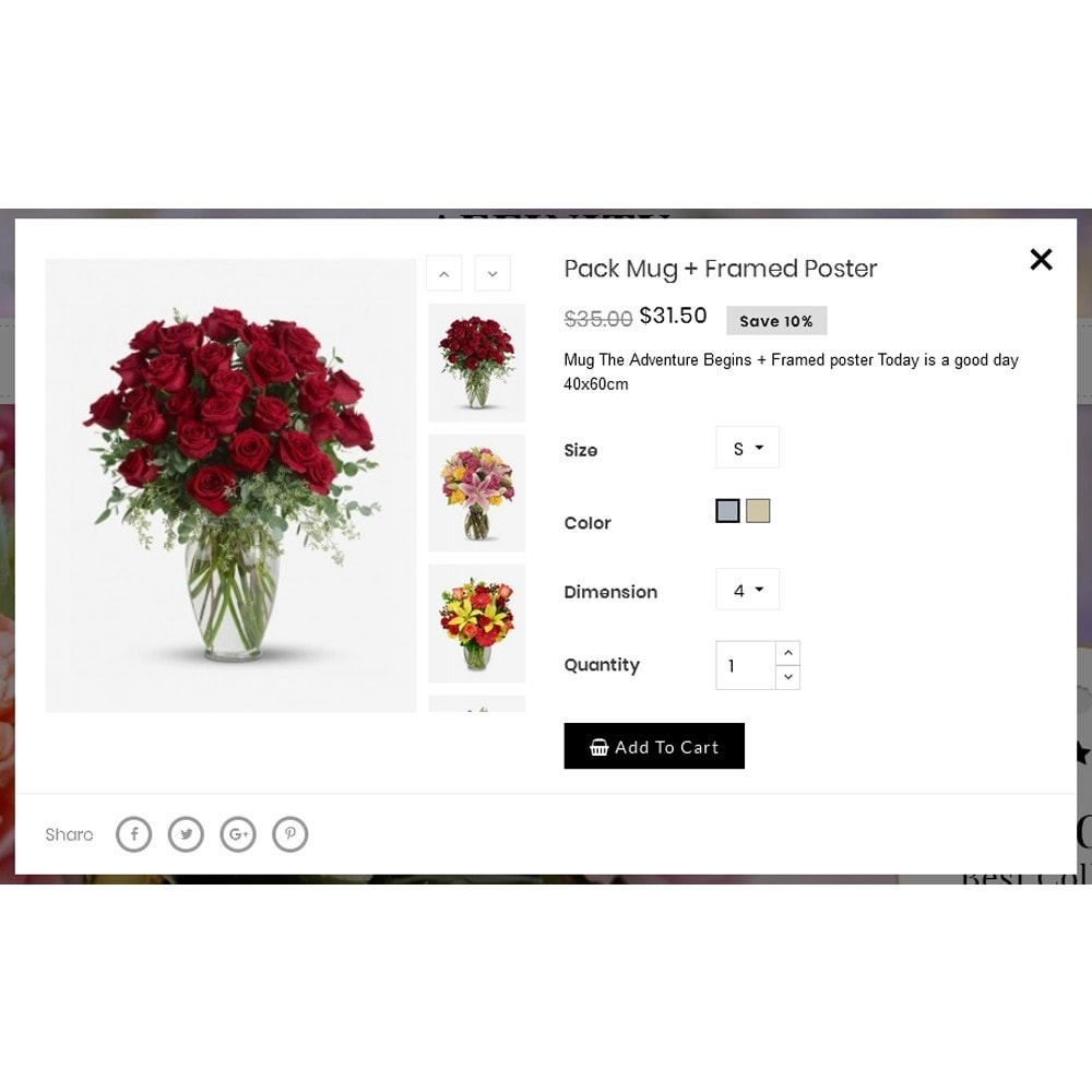 theme - Gifts, Flowers & Celebrations - Affinity Flower Store - 7