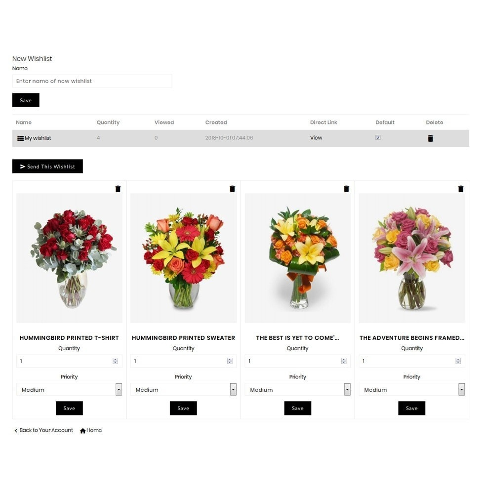 theme - Gifts, Flowers & Celebrations - Affinity Flower Store - 10