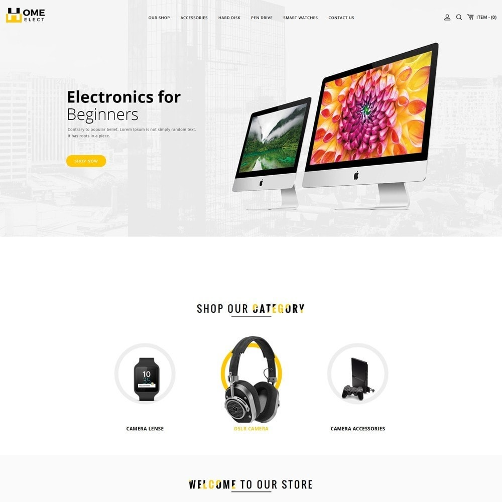 theme - Electronics & Computers - Homeelect - The Electronic Store - 2