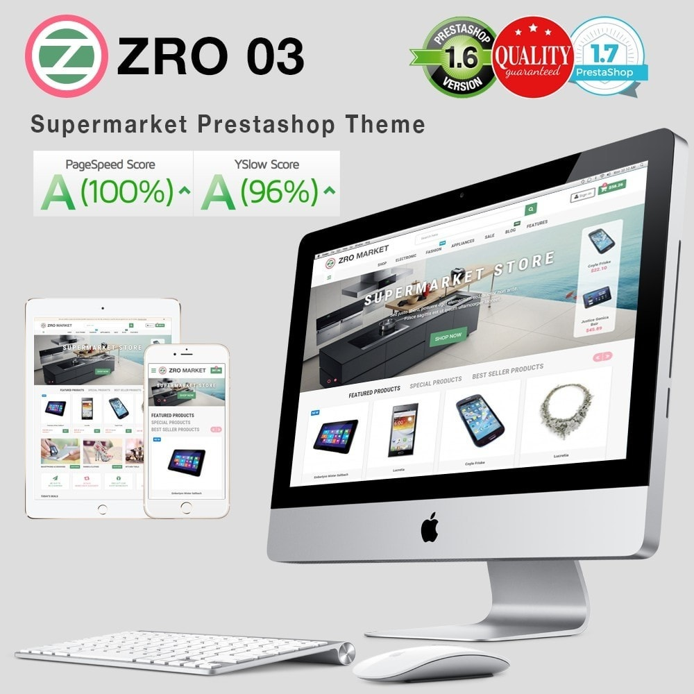 theme - Elektronica & High Tech - Zro03 - Supermarket Store - 1
