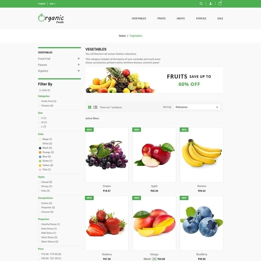 theme - Lebensmittel & Restaurants - Bio-Lebensmittelgeschäft - 4