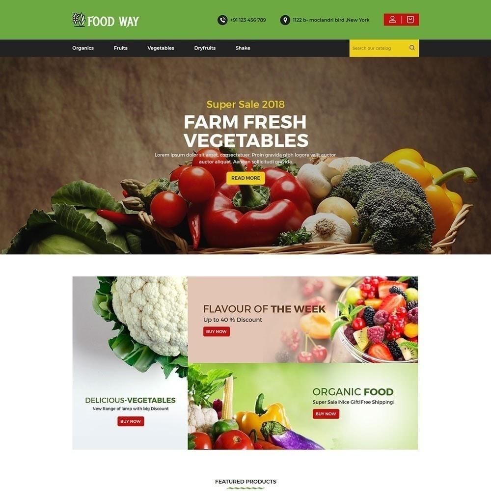 theme - Alimentation & Restauration - Magasin d'alimentation - 3