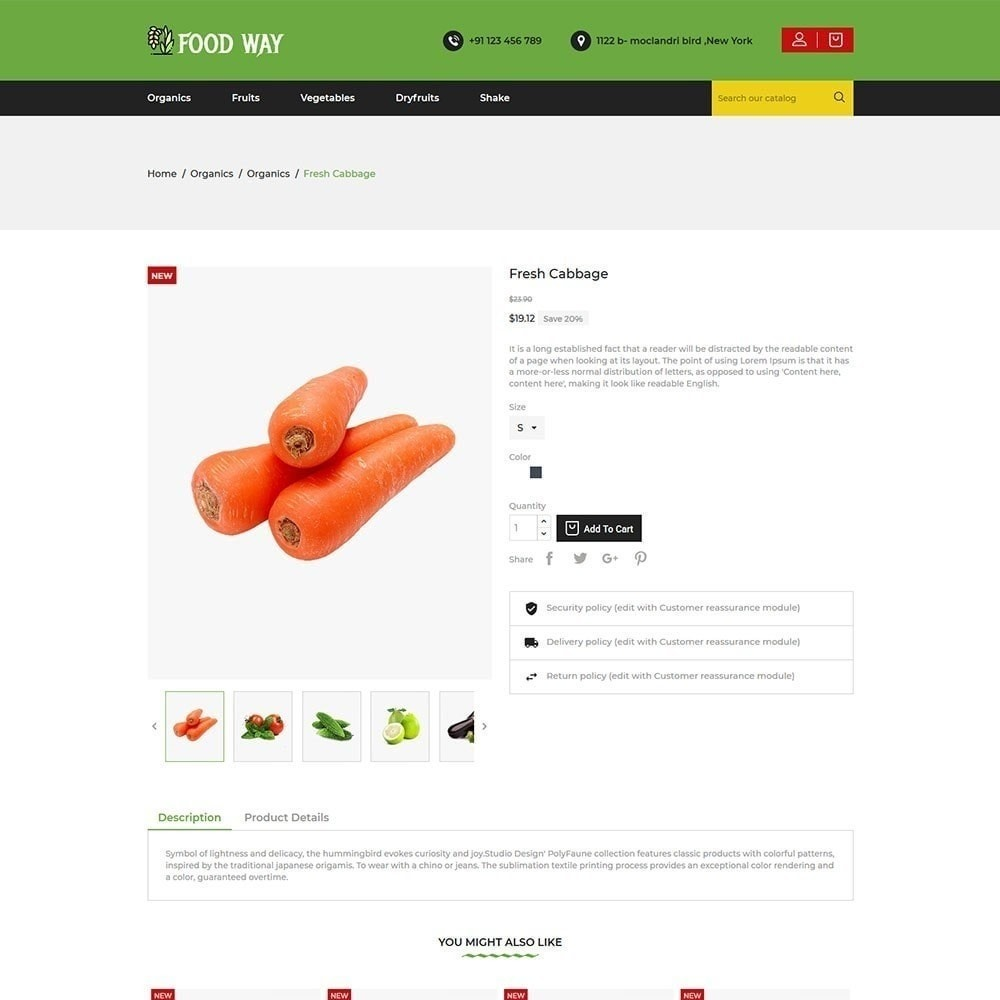 theme - Alimentation & Restauration - Magasin d'alimentation - 6