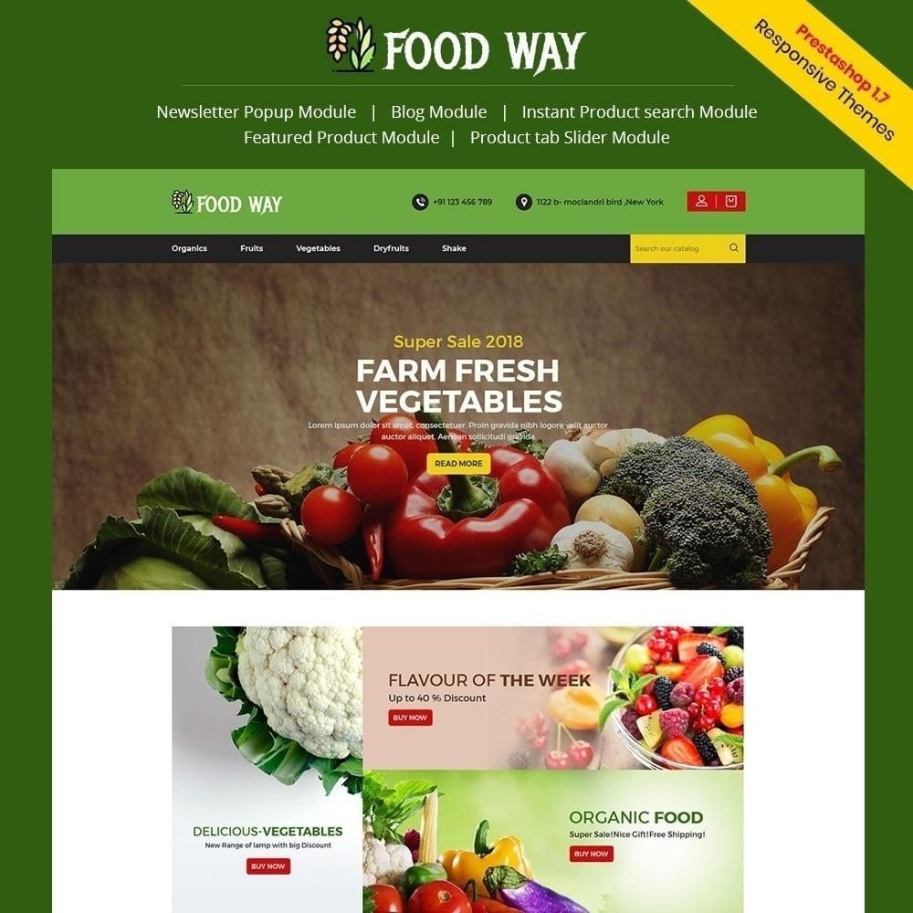 theme - Gastronomía y Restauración - Foodway tienda de alimentos - 4
