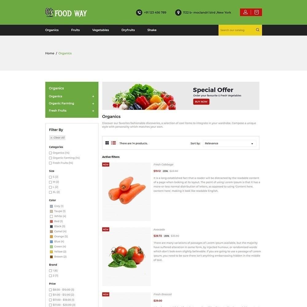 theme - Gastronomía y Restauración - Foodway tienda de alimentos - 5