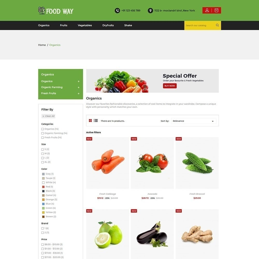 theme - Lebensmittel & Restaurants - Foodway Lebensmittelgeschäft - 4