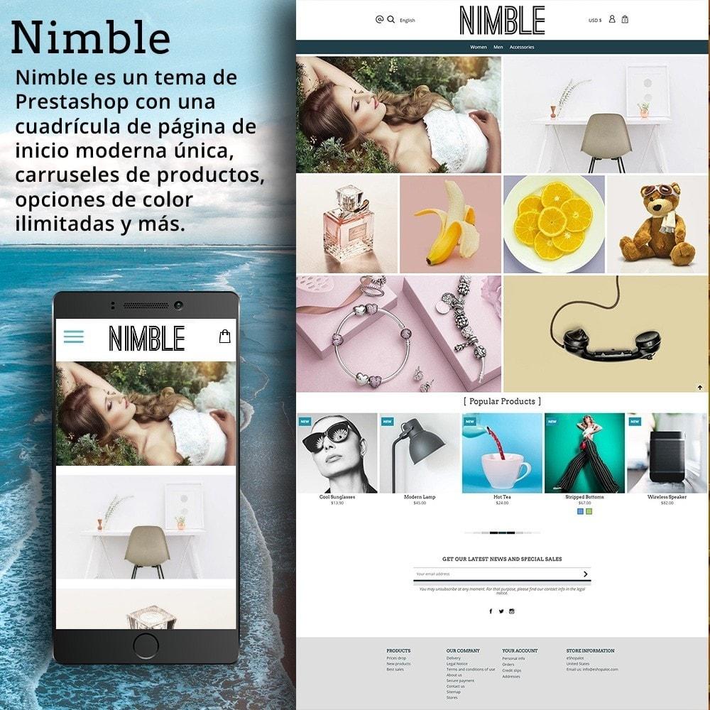 theme - Moda y Calzado - Nimble Cuadrícula Temática - 2