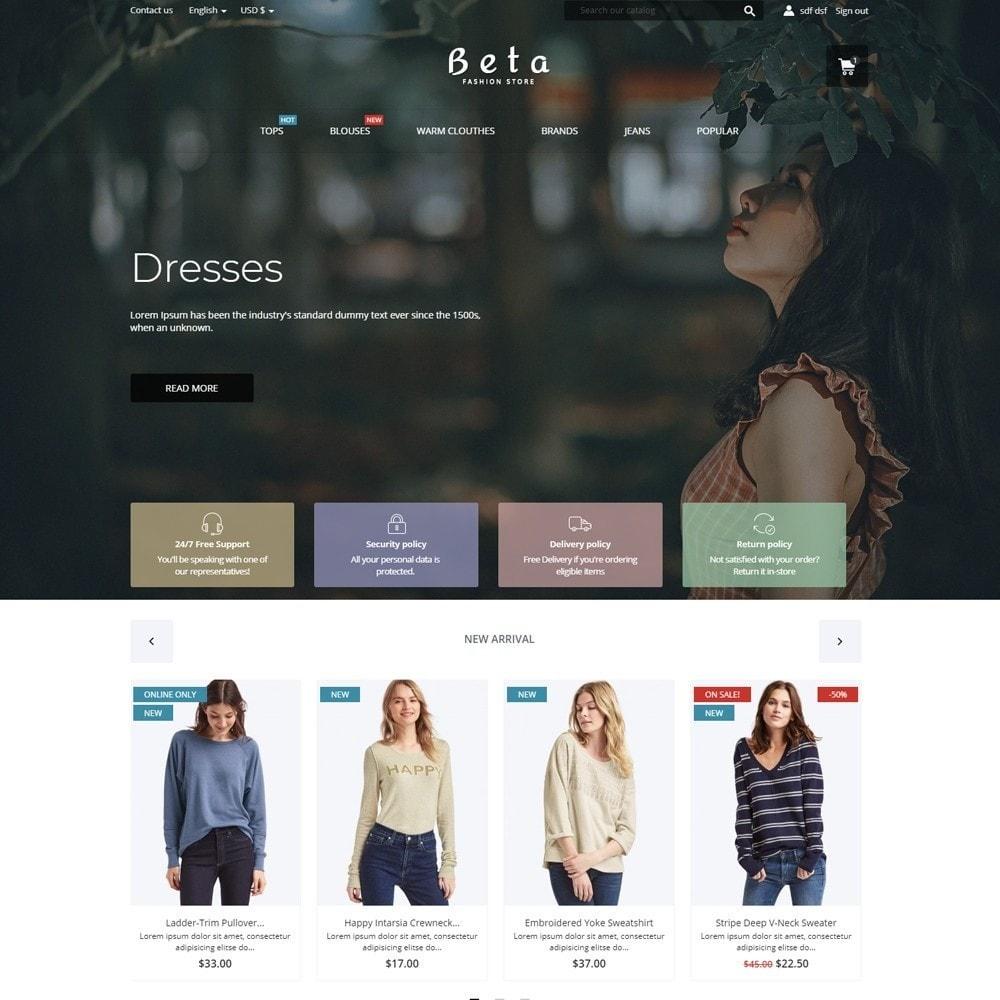 theme - Fashion & Shoes - Beta Fashion Store - 2