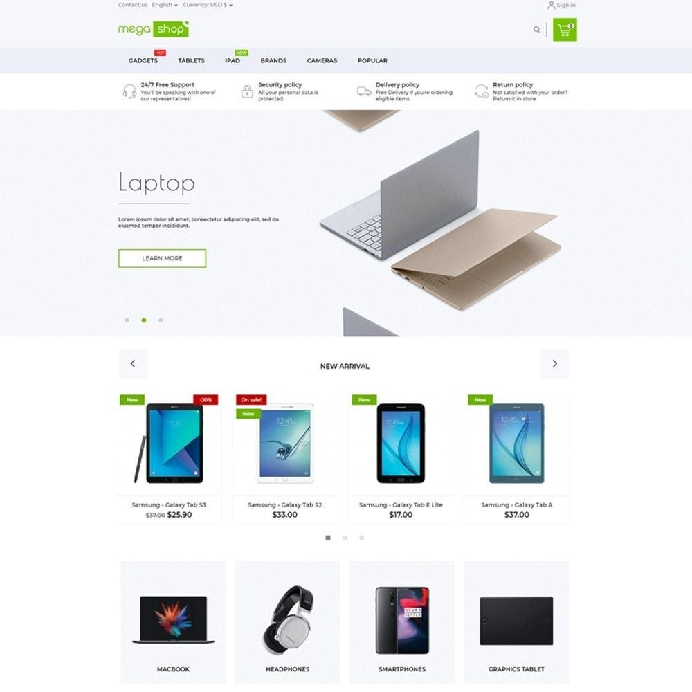 theme - Electronics & Computers - MegaShop - High-tech Shop - 2