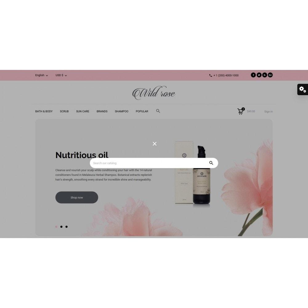 theme - Health & Beauty - Wild rose Cosmetics - 10