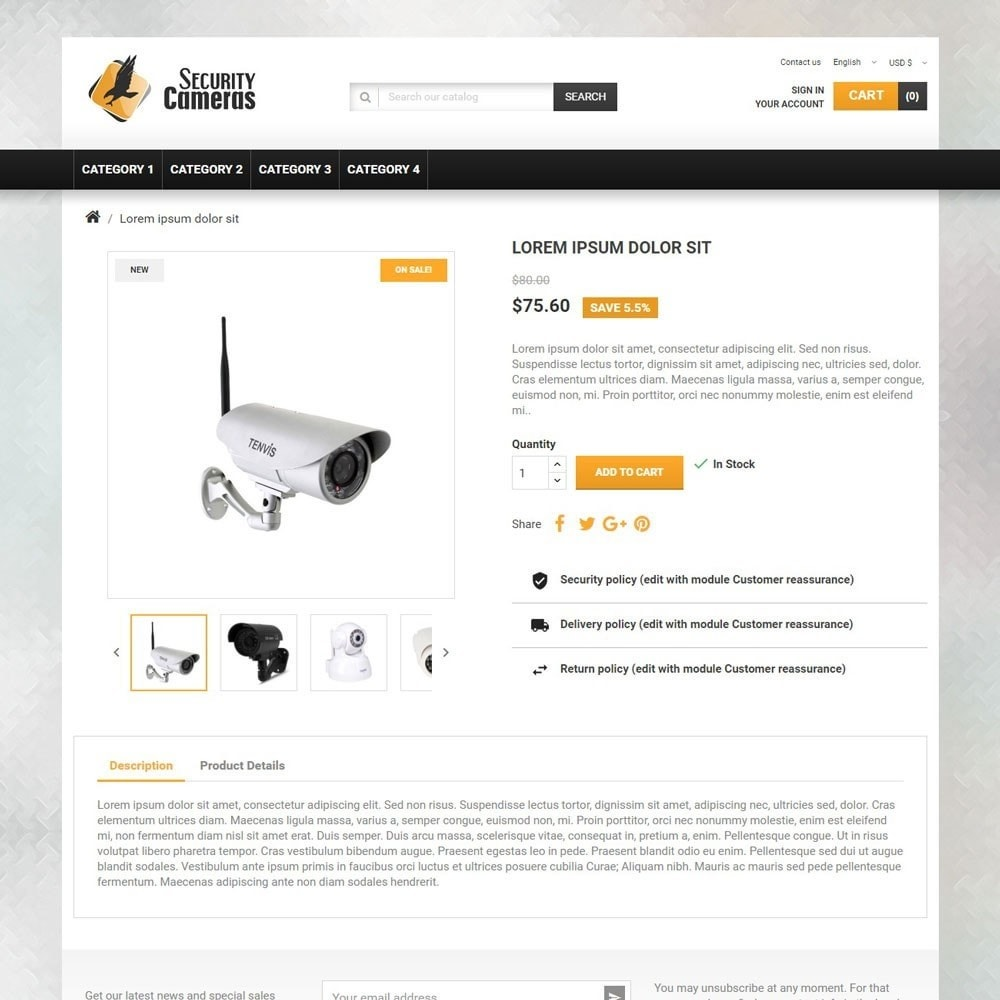 theme - Elettronica & High Tech - SecurityCameras - 3