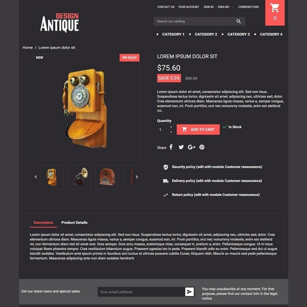 theme - Kunst & Kultur - AntiqueDesign - 3
