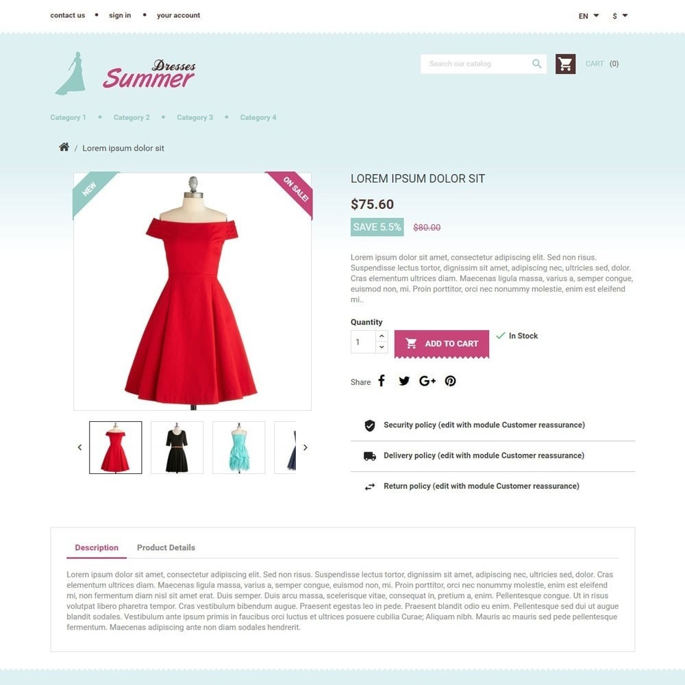 theme - Moda & Calzature - SummerDresses - 3