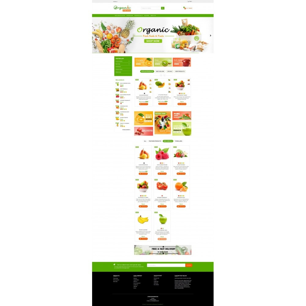 theme - Eten & Restaurant - Organic Fresh Naturals Multipurpose HTML5 - 4