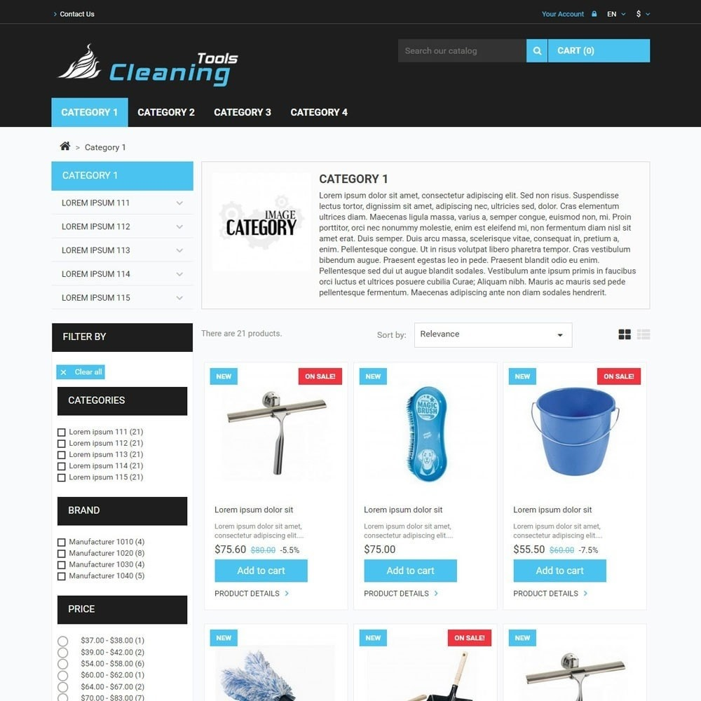 theme - Home & Garden - CleaningTools - 2