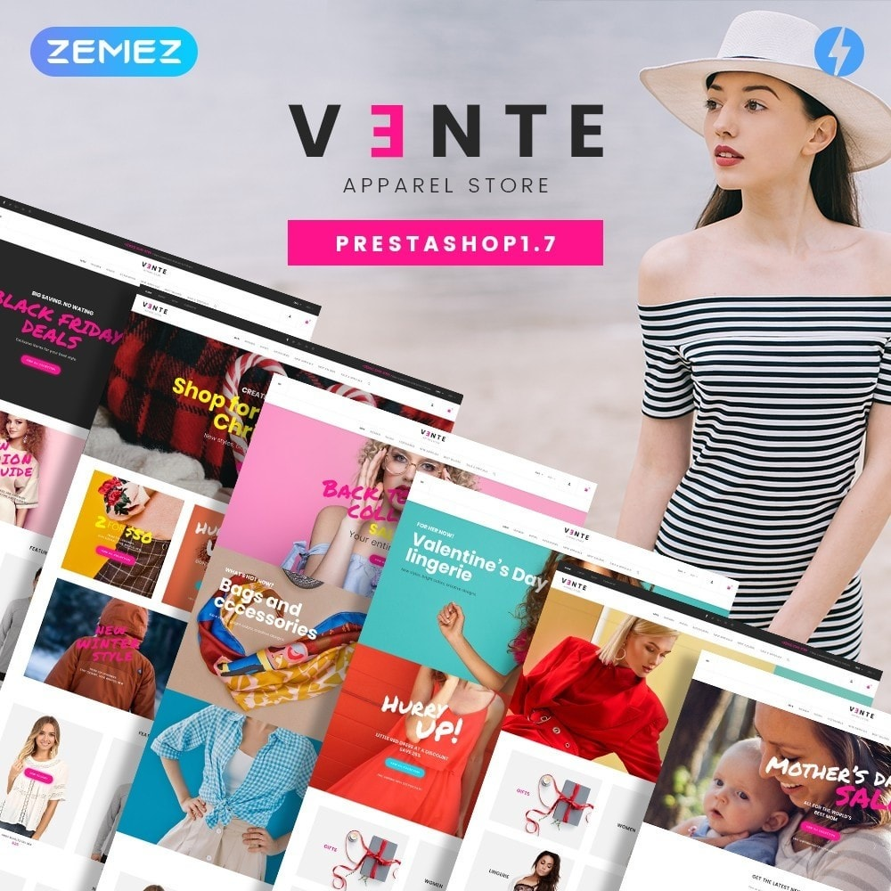 theme - Mode & Chaussures - Vente - Apparel Store - 2