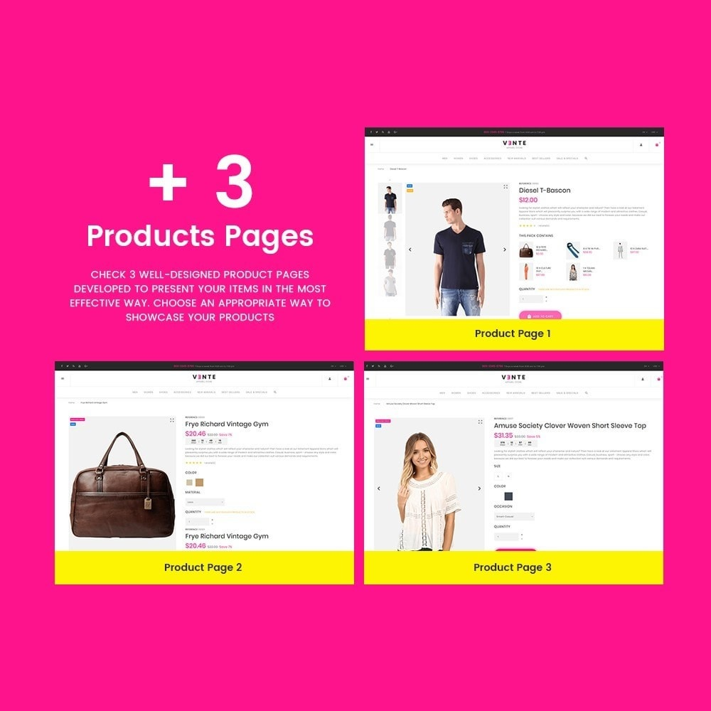 theme - Mode & Chaussures - Vente - Apparel Store - 3