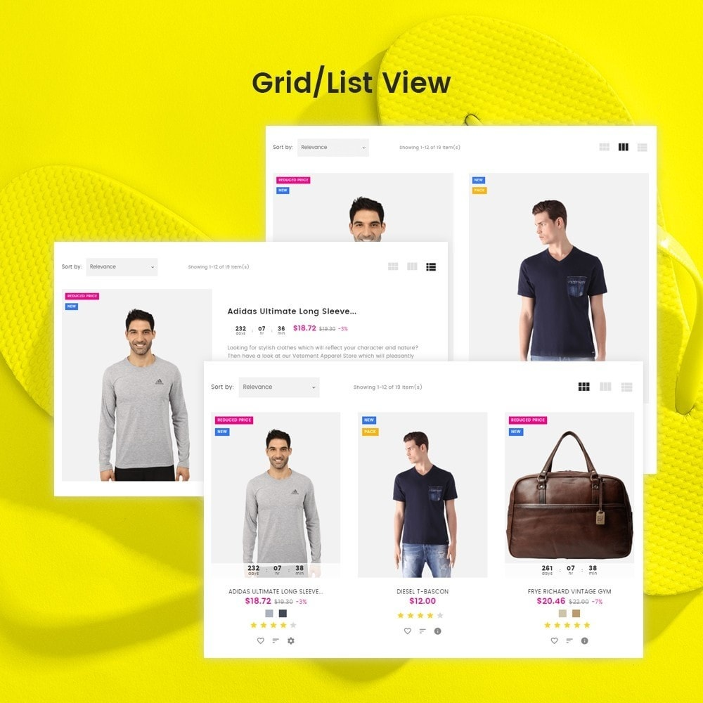 theme - Mode & Chaussures - Vente - Apparel Store - 5