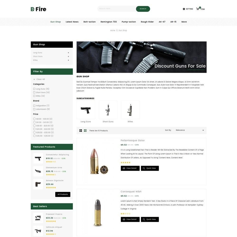 theme - Auto & Moto - Bfire Gun & Tools Store - 5