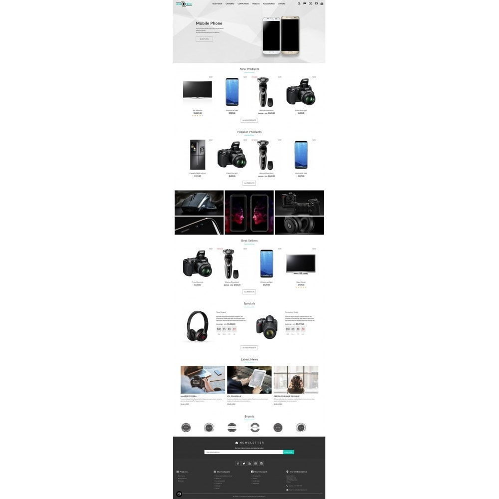 theme - Electronics & Computers - High Tech Store - 2